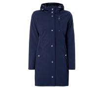Softshell-Jacke mit gesteppter Kontrastblende