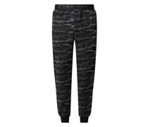 Pyjama-Hose mit Camouflage-Muster