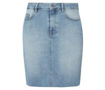 5-Pocket-Jeansrock mit ausgefranstem Saum