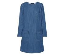 Jeanskleid mit aufgesetzten Taschen