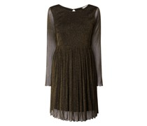 Kleid mit Effektgarn Modell 'Freja'