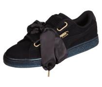 Sneaker 'Basket Heart' aus Veloursleder - Suede Heart Sati