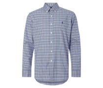 Modern Fit Hemd mit Karo-Dessin