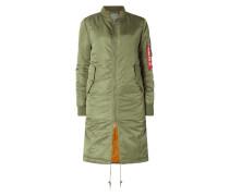 Mantel mit wärmender Wattierung