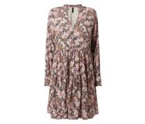 Kleid mit floralem Muster Modell 'Moni'