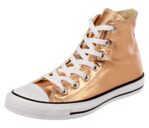 High Top Sneaker 'All Star' in Metallicoptik