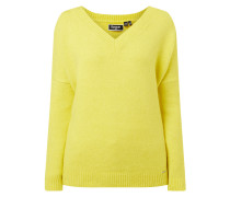Pullover mit Woll-Anteil Modell 'Eva'