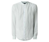 Regular Fit Leinenhemd Modell 'Tarok'