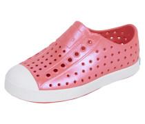 Slip-On Sneaker mit eingestanztem Lochmuster