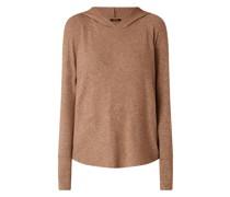 Pullover mit Kapuze Modell 'Sylvanna'
