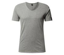 T-Shirt aus Baumwolle mit Logo-Details