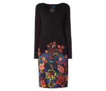 Kleid mit floralem Motiv