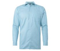 Modern Fit Business-Hemd mit Webmuster