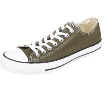 Sneaker aus Canvas mit Schnürverschluss