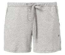 Shorts aus Jersey mit Tupfen