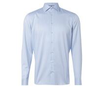 Modern Fit Hemd mit Streifenmuster