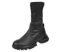 Boots in Leder-Optik Modell 'Caldi'