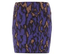 Wollrock mit elastischem Bund und Muster