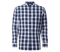Regular Fit Hemd mit New Kent Kragen