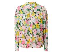 Oversized Bluse aus Krepp Modell 'Zunco'