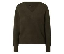 Pullover mit V-Ausschnitt Modell 'Tori'
