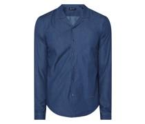 Slim Fit Business-Hemd aus Baumwolle Modell 'Herl'