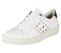 Sneaker 'Suzie' aus Leder mit Perforationen