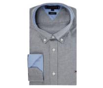PLUS SIZE Regular Fit Freizeithemd aus Oxford - 'Better Cotton Initiative'