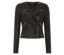 Biker-Jacke in Leder-Optik Modell 'Ria'