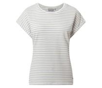 T-Shirt mit Streifenmuster Modell 'Felia'