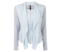 Sweatjacke im 2-in-1-Look