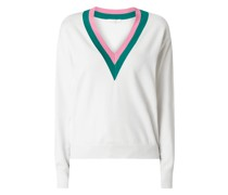 Pullover mit Zierstreifen