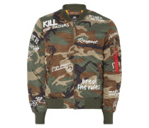 Bomber mit Message-Prints