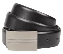 Ledergürtel mit Pin-Schließe