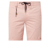 Chino-Shorts mit Stretch-Anteil