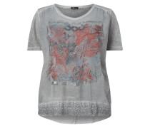 PLUS SIZE - Shirt mit Häkelspitze