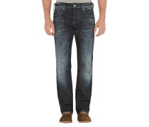 Defend Straight Straight CutJeans mit Stretch-Anteil