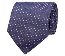 Krawatte mit feinem Punktemuster