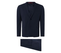 Extra Slim Fit Anzug mit 2-Knopf-Sakko Modell 'Away'