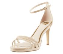 Sandalette in Lack-Optik Modell 'Melissa'
