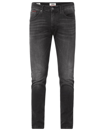 Slim Tapered Fit Jeans mit Stretch-Anteil Modell 'Steve'