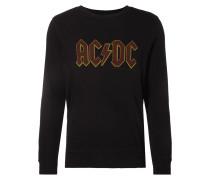 Sweatshirt mit AC/DC-Print