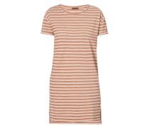 Kleid mit Streifenmuster und Effektgarn