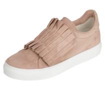 Sneaker aus Veloursleder mit Klettverschluss