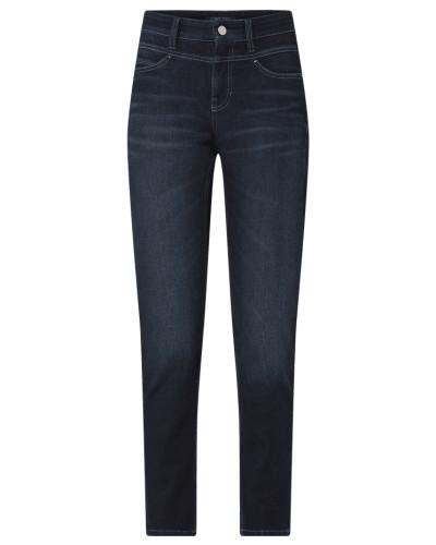 Slim Fit Jeans mit Nietenbesatz