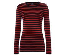 Pullover aus Rippenstrick mit Streifenmuster