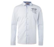 Regular Fit Freizeithemd mit Label-Details