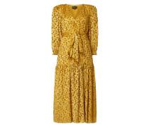Kleid mit Seide-Anteil
