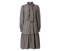 Blusenkleid mit Karomuster Modell 'Vivgz'