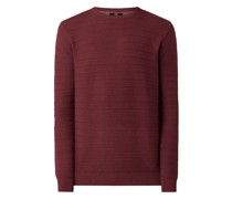 Casual Fit Pullover aus Baumwolle